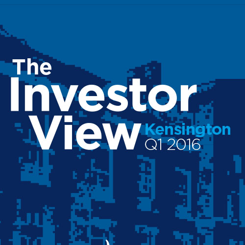 The Investor View Kensington Q1 2016